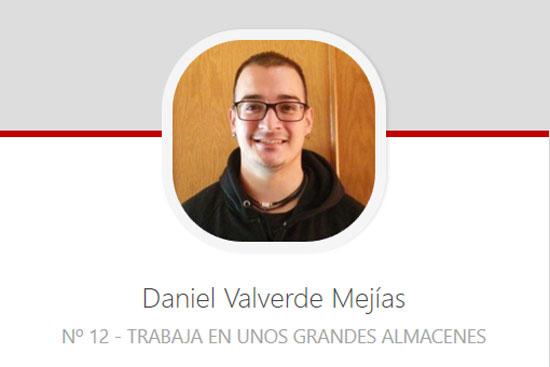 Candidato Daniel Valverde Mejías